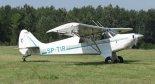 "Samolot Aviat A-1B ""Husky"" (SP-TIR) . (Źródło: Copyright Jacek Kos)."