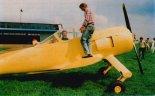 """Studium makietowe projektu GM-1 """"Gniady"""", Bielsko- Biała, 1990 r. (Źródło: Przegląd Lotniczy Aviation Revue nr 12/1997)."""