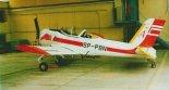 """GM-1 """"Gniady"""" w hangarze w Dęblinie, 05.09.1997 r. (Źródło: Przegląd Lotniczy Aviation Revue nr 12/1997)."""