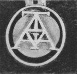 """Logo Towarzystwa """"Awiata"""". (Źródło: Banaszczyk Eugeniusz """"Pierwsze skrzydła"""". Wydawnictwo MON. Warszawa 1972)."""