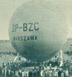 """Balon wyczynowy MOS-2 """"Warszawa"""" (SP-BZC). (Źródło: Skrzydlata Polska nr 3/1965)."""
