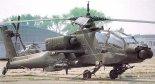 """Śmigłowiec szturmowy w wersji McDonnell Douglas AH-64A """"Apache"""". (Źródło: U.S. Army)."""