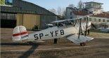 """Samolot szkolny Bücker T-131 """"Jungmann """" (SP-YFB) zbudowany w firmie Air Res Aviation z Rzeszowa. (Źródło: Air Res Aviation: Strona główna - Jungmann Project)."""