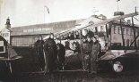 Samolot szkolny Caudron G-III w barwach polskiego lotnictwa wojskowego.  (Źródło: archiwum).