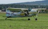 """Samolot wielozadaniowy Cessna 185 """"Skywagon"""" (SP-AKZ). (Źródło: Copyright Jacek Kos)."""