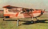 """Samolot sanitarny Cessna 185 """"Skywagon"""" (N1649Z) wkrótce po dostawie do Polski na początku 1963 r. (Źródło: Skrzydlata Polska nr 18/1963)."""