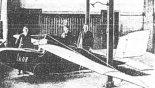 """Szybowiec amatorski """"Ikar"""". (Źródło: Glass A. """"Polskie konstrukcje lotnicze 1893-1939"""". Wydawnictwa Komunikacji i Łączności. Warszawa 1976)."""