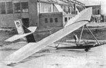 Szybowiec szkolny CW-8 bis. (Źródło: Skrzydlata Polska nr 3/1935).