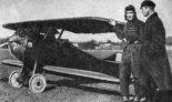 """Amatorski samolot sportowy D-1 """"Cykacz"""". (Źródło: Rychter W. """"Skrzydlate wspomnienia"""". Wydawnictwa Komunikacji i Łączności. Warszawa 1980)."""
