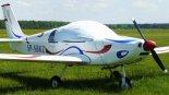 """Ultralekki samolot sportowy Avia Group """"Dedal II"""", drugi prototyp (SP-SBKZ). (Źródło: Copyright Mikołaj Lech)."""