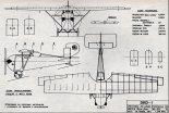 DKD-I, plany modelarskie. (Źródło: Modelarz nr 8/1971).