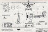DKD-III, plany modelarskie. (Źródło: Modelarz nr 10/1971).