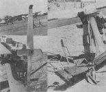 """Śmigło """"Ważki"""" z łopatkami wentylatora oraz drążek sterowy z przechylaną rękojeścią jak u """"Spitfire'a"""". (Źródło: Technika Lotnicza i Astronautyczna nr 1/1984)."""