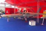 """Rozpoznawczy bezpilotowy aparat latający Elbit """"Hermes-450"""". (Źródło: Copyright Tomasz Hens)."""