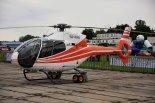 "Prywatny śmigłowiec Eurocopter EC-120 ""Colibri"" (SP-KKN). (Źródło: Copyright Tomasz Hens)."