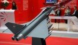 """Model samolotu Eurofighter """"Typhoon"""" w polskich barwach prezentowany na MSPiO 2011 r. (Źródło: Copyright Tomasz Hens)."""