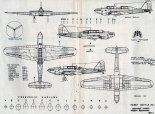 """Fairey """"Battle"""", plany modelarskie. (Źródło: Modelarz nr 8/1977)."""