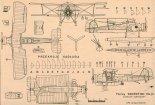 """Fairey """"Swordfish"""". Plany modelarskie (Źródło: Modelarz nr 5/1982)."""