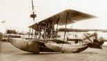 Łatająca łódź FBA Typ C w szkole rosyjskiego lotnictwa morskiego w Baku. (Źródło: archiwum).